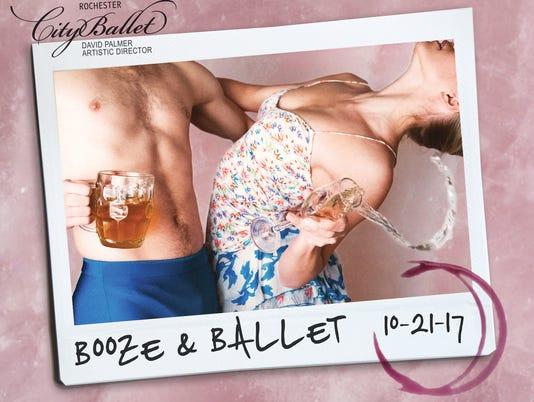 Rochester City Ballet's Booze & Ballet