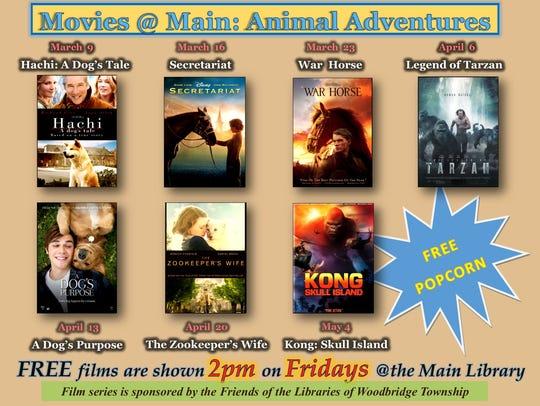 """Movies @ Main: Animal Adventures,"" a new film series,"