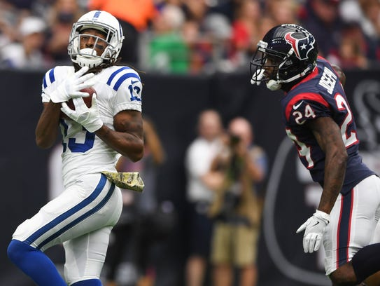 Wide receiver T.Y. Hilton is the Colts most dynamic