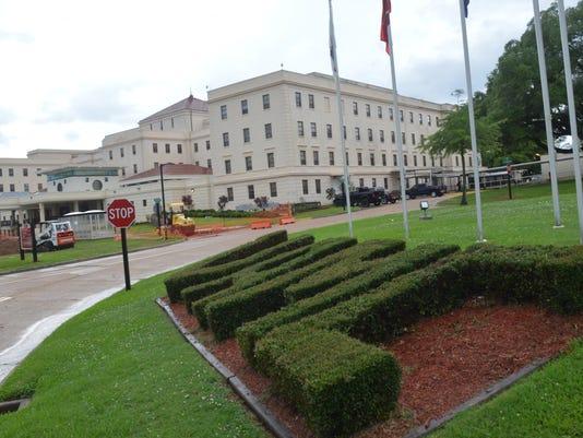 ANI VA Hospital Alexandria VA Medical Center in Pineville, La. Monday, June 9, 2014.-Melinda Martinez/mmartinez@thetowntalk.com