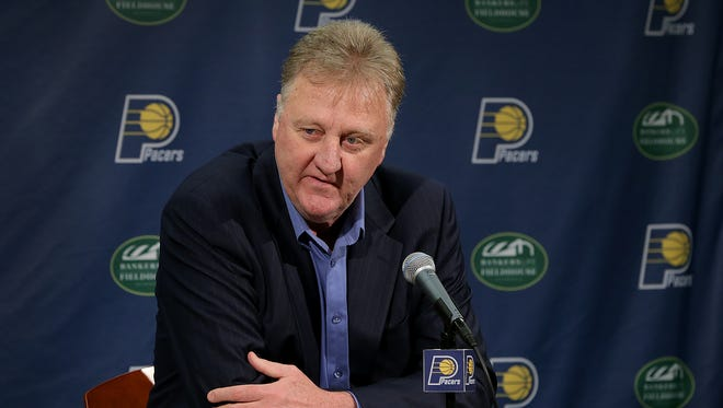 Pacers president Larry Bird and company prepare for tonight's NBA Draft.
