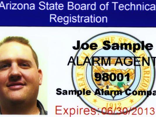 Consumers: Check door-to-door alarm sales licenses