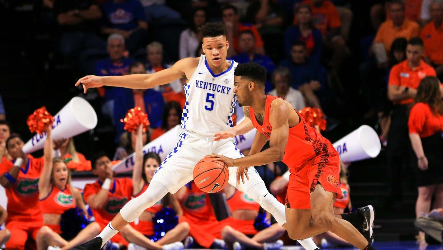 Kentucky basketball win-streak snapped by surging Florida Gators