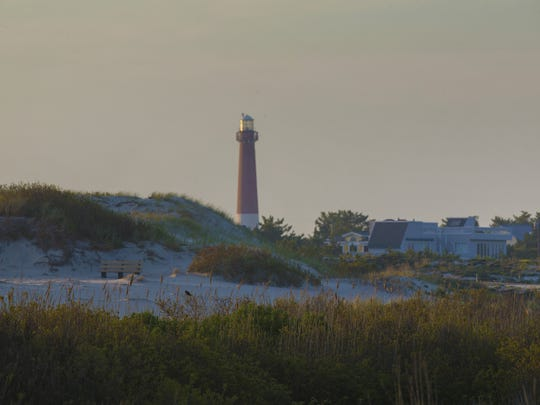 Barnegat Lighthouse Park was created in 1957. Its' main attraction is the lighthouse, which you can climb to the lightkeepers catwalk. Besides the lighthouse people come to the park to walk, birdwatch, learn about maritime history and fish.