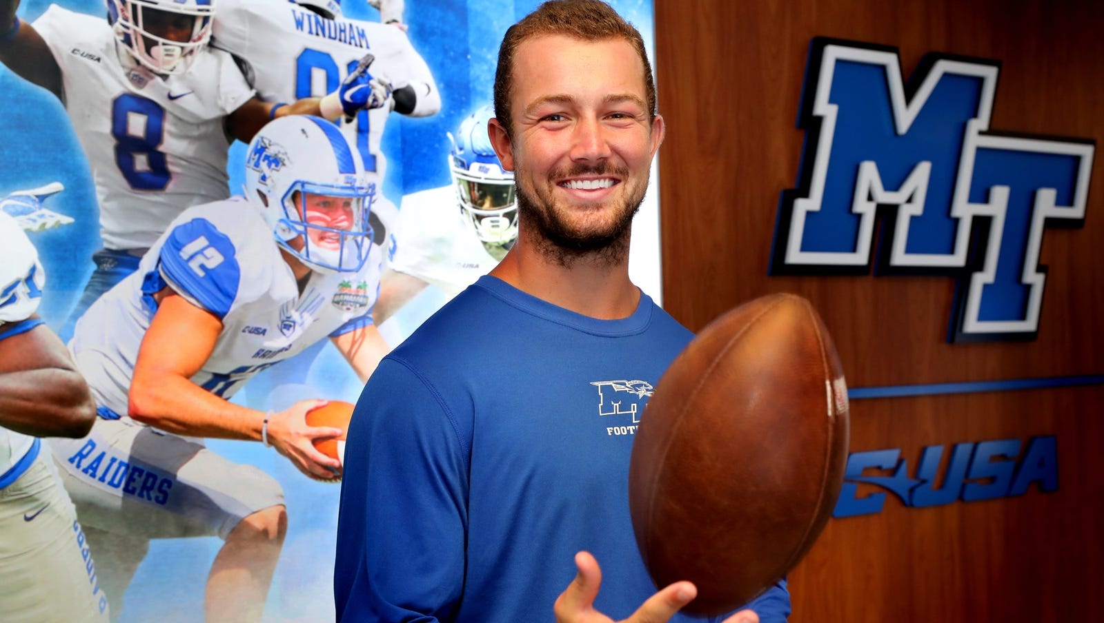 Mtsu Football Why Brent Stockstill Is One Of The Toughest Players