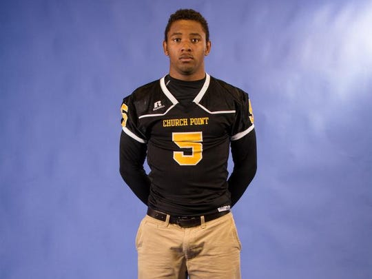 Frederick Williams: Church Point, Senior, Running Back/Defensive