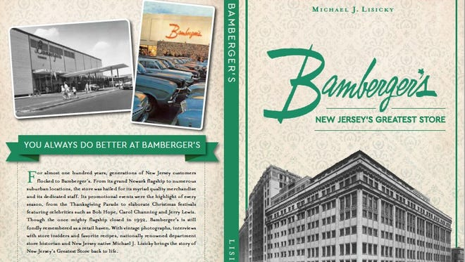 """New Jersey native Michael Lisicky has published """"Bamberger's: New Jersey's Greatest Store,"""" his ninth book about American department stores."""