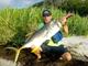 "Kayak fisherman Ty Southerland said, ""Caught this monster"