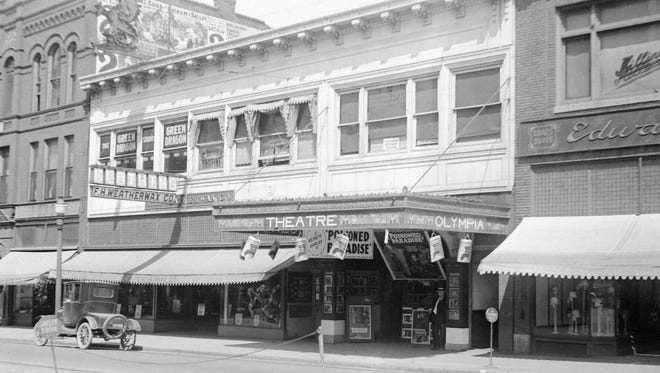 The Olympia Theatre at 132 S. Phillips Ave.