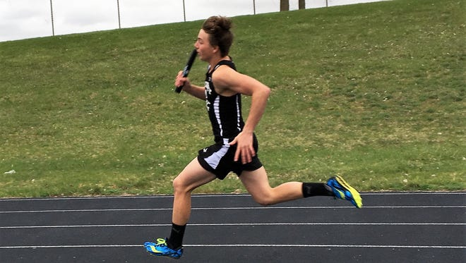 Pinckney's Alex Wasyl made the All-Livingston County track and field team in the 400 and on three relay teams.
