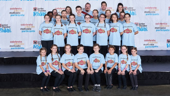 Students who traveled to the iTheatrics Junior Theater Festival Atlanta on behalf of Riverside Theatre are Kristi Beckett, Trinity Abdallah Blais, David Calahan, Michala Calahan, Caleb Cope, Kayleigh Cunningham, Audrey Dowdell, Victoria Dowdell, Angelina DuBois, Emma Fini, Remi Heyer, Daylan Haake, Harrison Hitt, Kathleen Kachaylo, Isabel Morby, Zane Morrow, Charlotte Nafe, Alison Niederpruem, Emily R. Olsson, Cristina Pines, Xaria Arielle Reason, Bailey Walker, Peter Wixon and Sophie Wolfenden.