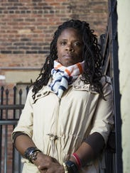 April 1, 2016: Iris Roley is photographed in Over-the-Rhine