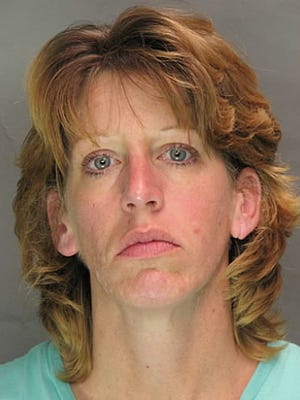 Amy Newmaster , sentenced for stealing rifle.