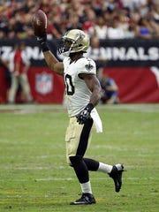 New Orleans Saints defensive back Delvin Breaux (40)