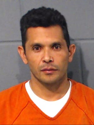 This undated photo provided by the Geary County Detention Center In Junction City, Kan., shows Tomas Martinez-Maldonado. Records obtained by The Associated Press show that Martinez-Maldonado a Mexican national accused of raping a 13-year-old girl on a Greyhound bus that traveled through Kansas had been deported 10 times and voluntarily removed from the U.S. nine times since 2003.