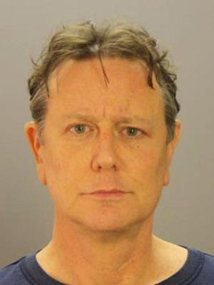 This undated photo provided by Dallas County Sheriff's Department shows Judge Reinhold. Reinhold pleaded no contest to misdemeanor disorderly conduct in an airport security dispute at Dallas Love Field. Reinhold entered the plea Tuesday, Jan. 17, 2017, and accepted deferred adjudication. The charge will be dropped if Reinhold stays out of trouble for 90 days.