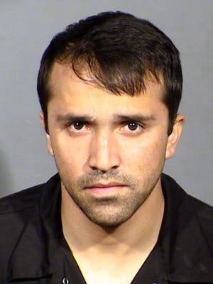 This Wednesday, March 22, 2017 booking photo provided by the Las Vegas Metropolitan Police Department shows Abdul Based, a taxi cab driver for the Lucky Cab Company of Nevada. Police say Based, has been arrested after the cab company found footage of him sexually assaulting an incapacitated customer.
