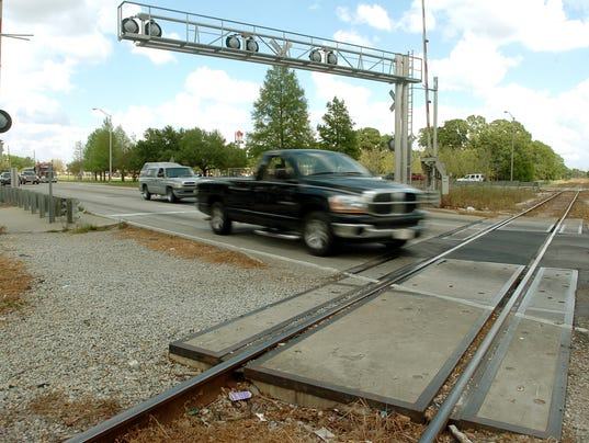 Railroad crossing replacement