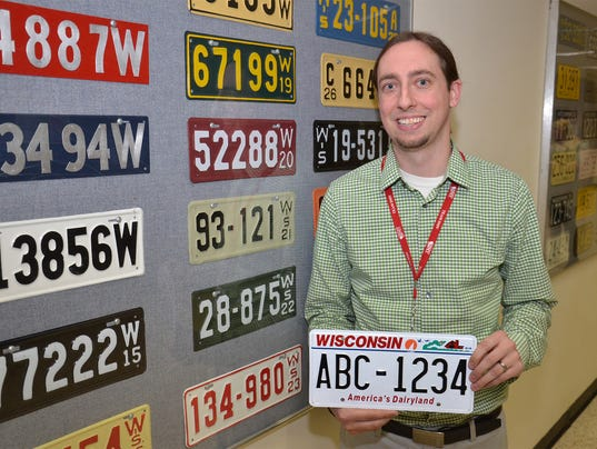 Wisconsin to issue first seven digit license plates this month for Department of motor vehicles stevens point wisconsin
