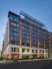Kimpton Journeyman Hotel, 310 E. Chicago St., was honored for a design that blends into its historic neighborhood.