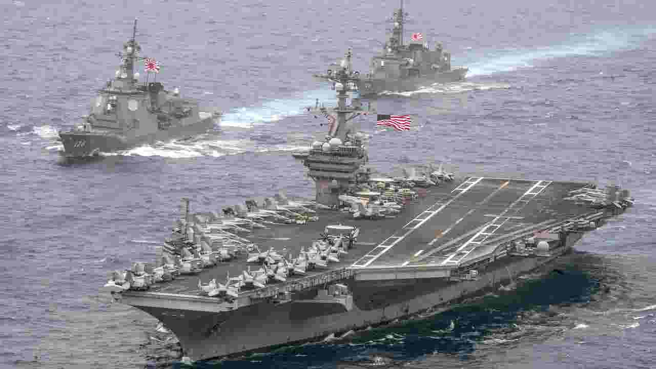 U S  sends message with carrier visit to Vietnam
