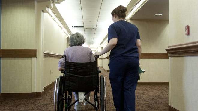 Indoor, in-person visits may resume Friday at long-term care facilities in Massachusetts.