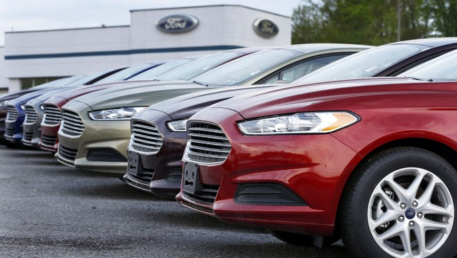 New car sales are still strong but likely to taper off in the second half