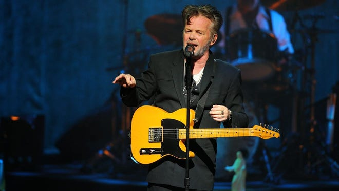 """John Mellencamp made a politically charged appearance on the Feb. 1, 2018, episode of """"Late Show with Stephen Colbert."""""""