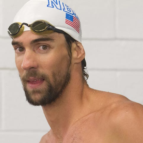 Michael Phelps through the years