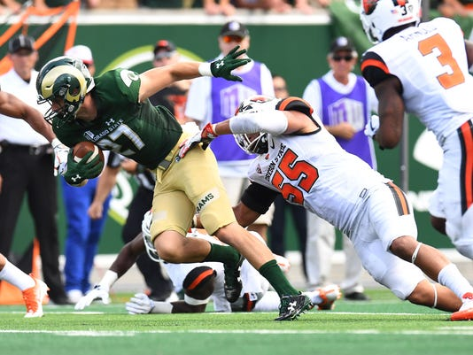 NCAA Football: Oregon State at Colorado State