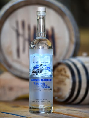 Seven Troughs Distilling Co. of Sparks creates Reno Rodeo Legacy Vodka. A portion of the sales benefits capital improvements to the site of the Reno Rodeo, which runs June 16 -25 in 2016.
