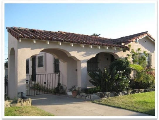 The California home where Burton's reentry project,