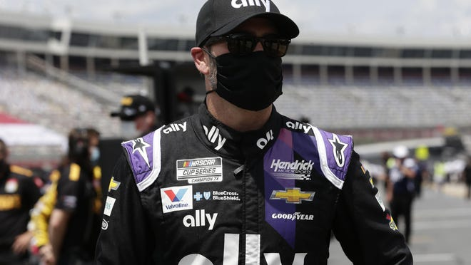 Driver Jimmie Johnson has been diagnosed with coronavirus and will miss Sunday's race at Indianapolis.