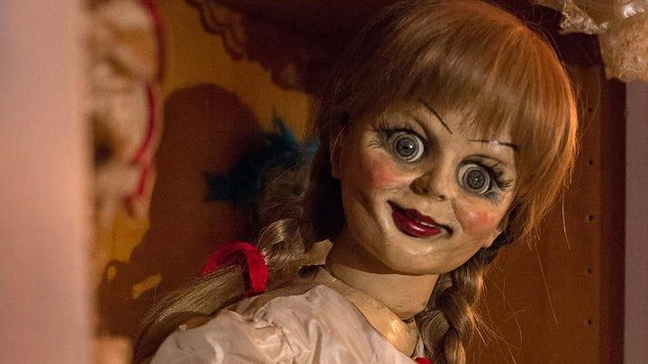 Annabelle the doll in 2014's 'Annabelle.'