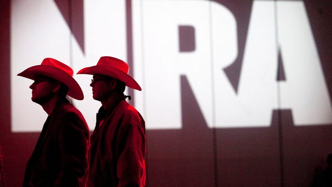 The 2105 NRA national convention will run from Friday, April 10, 2015 through Sunday, April 12.