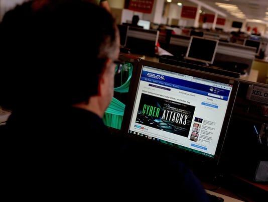 Cyberattack Computer File Photo