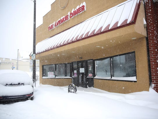 The Avenue Diner, on Monroe Avenue was closed on Wednesday,
