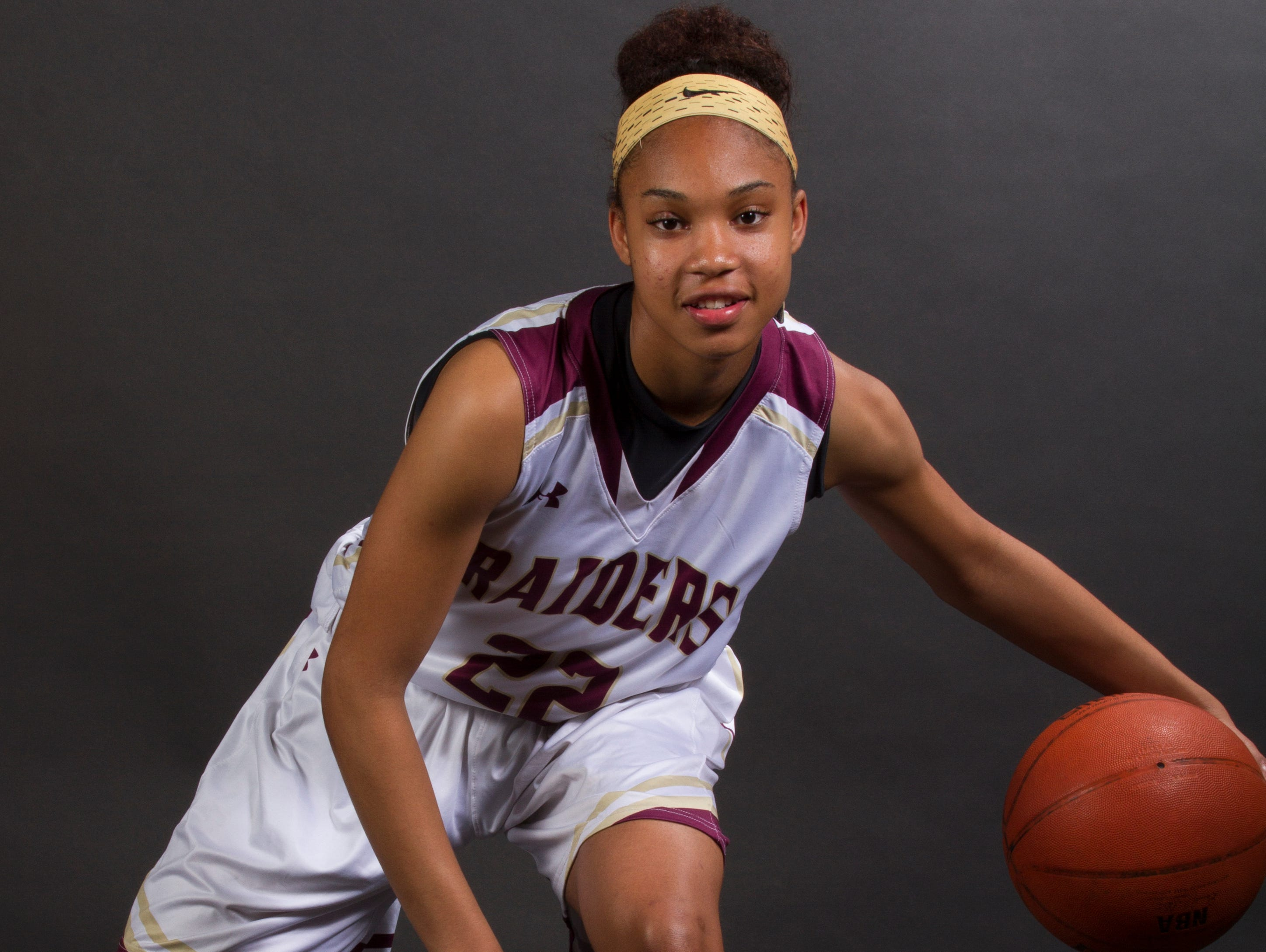Yasmeen Chang, 14, is a freshman basketball player at Riverdale High School.