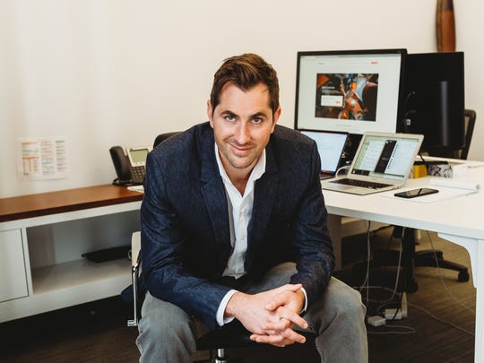 Rudd Davis, CEO of Blackbird, a San Franciso aviation startup that is considering a route from Reno to Palo Alto, Calif., in Silicon Valley. Davis is attending the Blueprint technology conference March 5-7, 2018, at the Nevada Museum of Art.