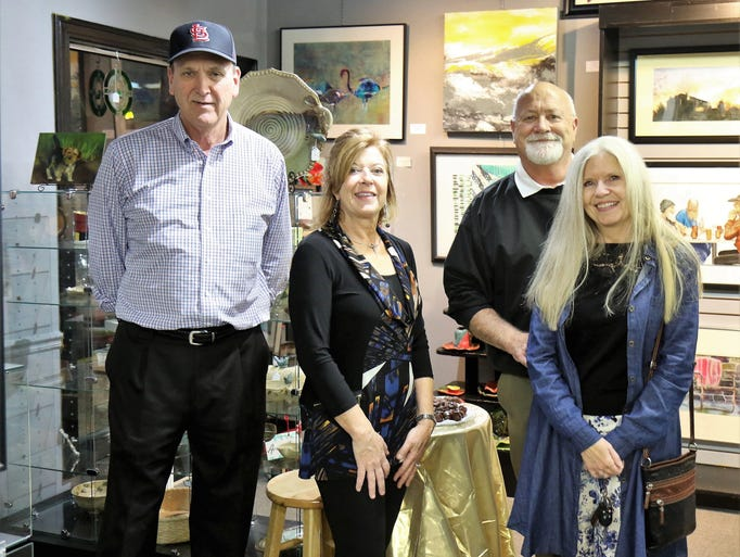 Scenes from the Art in the Village event on Nov. 30,