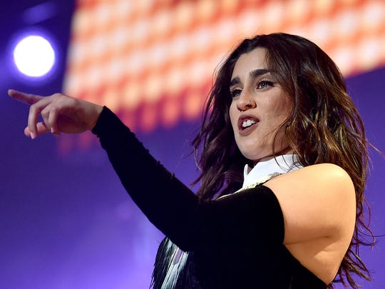 Lauren Jauregui of Fifth Harmony performs onstage during 102.7 KIIS FM's Jingle Ball 2016 on Dec. 2, 2016 in Los Angeles.
