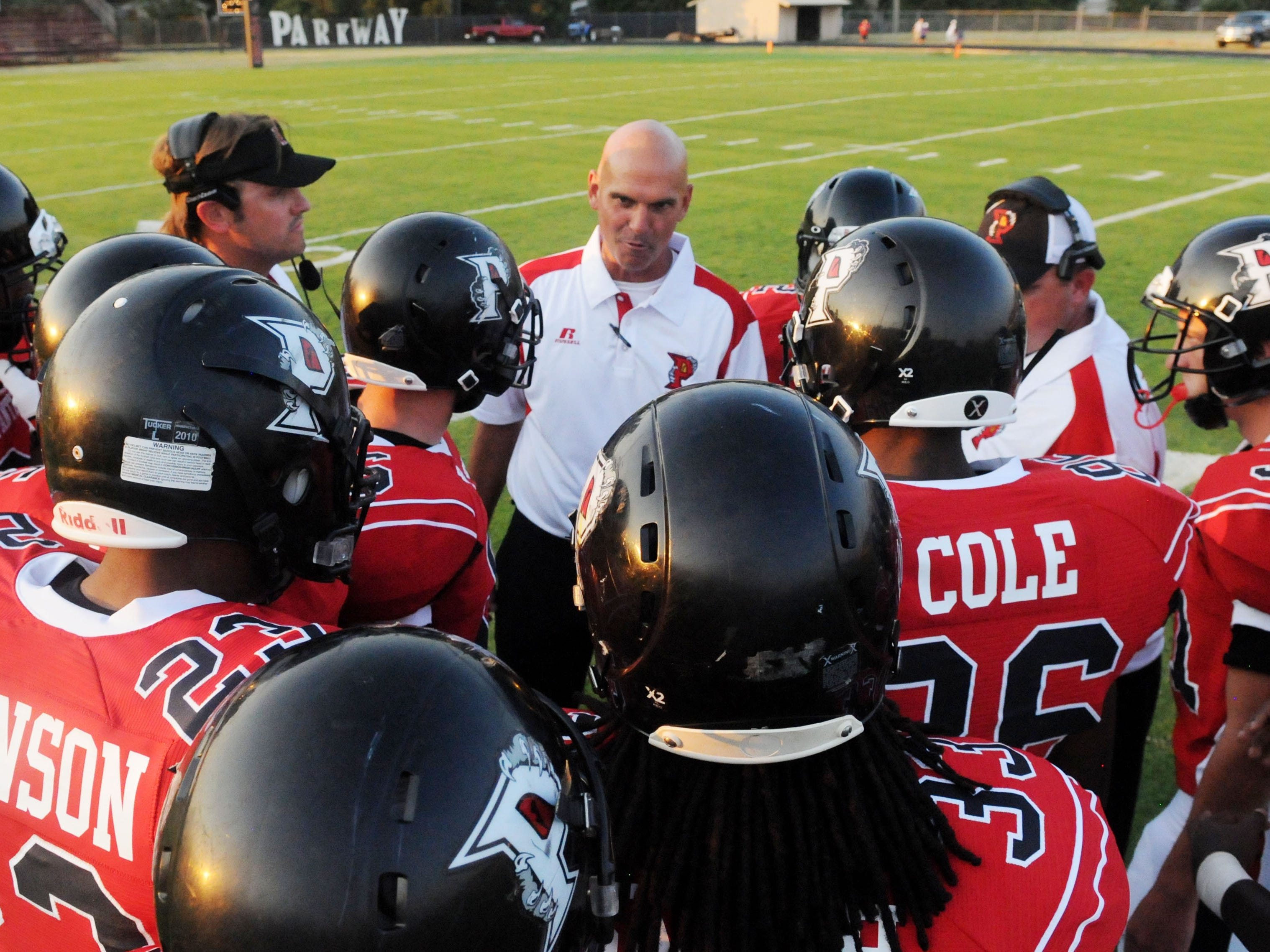 Former Parkway head football coach David Feaster was released after six seasons.