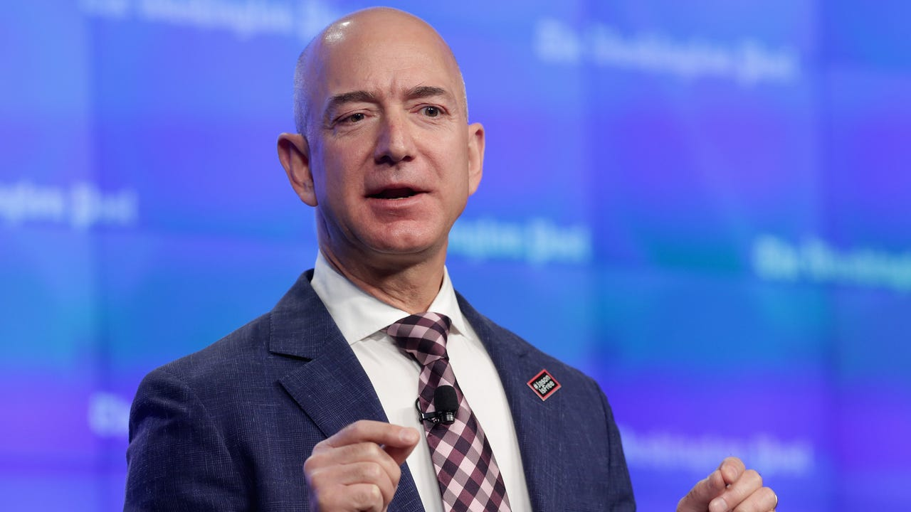 Jeff Bezos is the world's first centi-billionaire