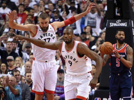 NBA: Playoffs-Washington Wizards at Toronto Raptors