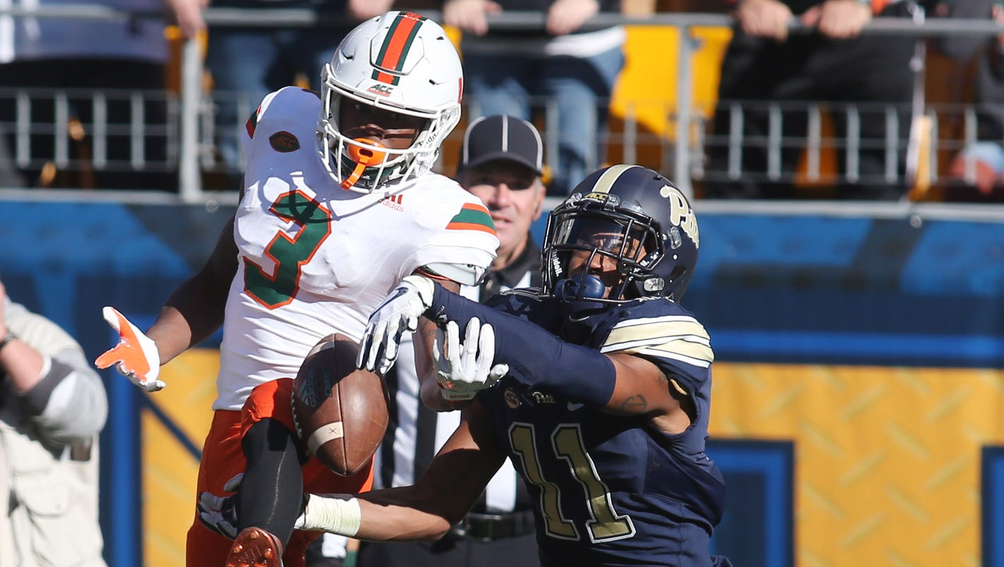 No. 2 Miami (Fla.) shocked by Pittsburgh dealing blow to College Football Playoff hopes