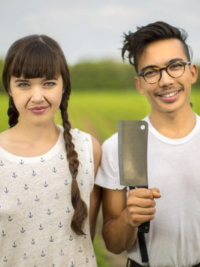 Siblings Aubry and Kale Walch launched The Herbivorous Butcher with the goal of fooling people into saving the planet by foregoing meat. They create cheese and meat from plant-based ingredients.