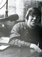 Bob Ley during his WSOU days at Seton Hall. He went on to acclaim at ESPN.
