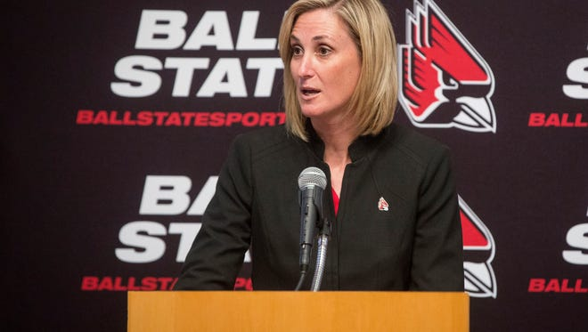 Beth Goetz, Ball State University's athletic director