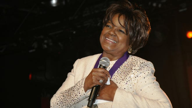 Pastor Shirley Caesar will be honored by the Nashville-based National Museum of African American Music on May 6.