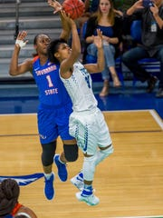 Junior forward Rosemarie Julian leads FGCU with 11.1 points per game.